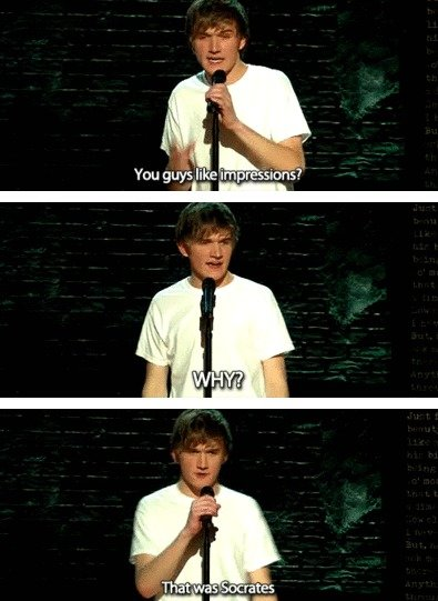 "From Bo Burnham's comedy special, ""Words, Words, Words."""
