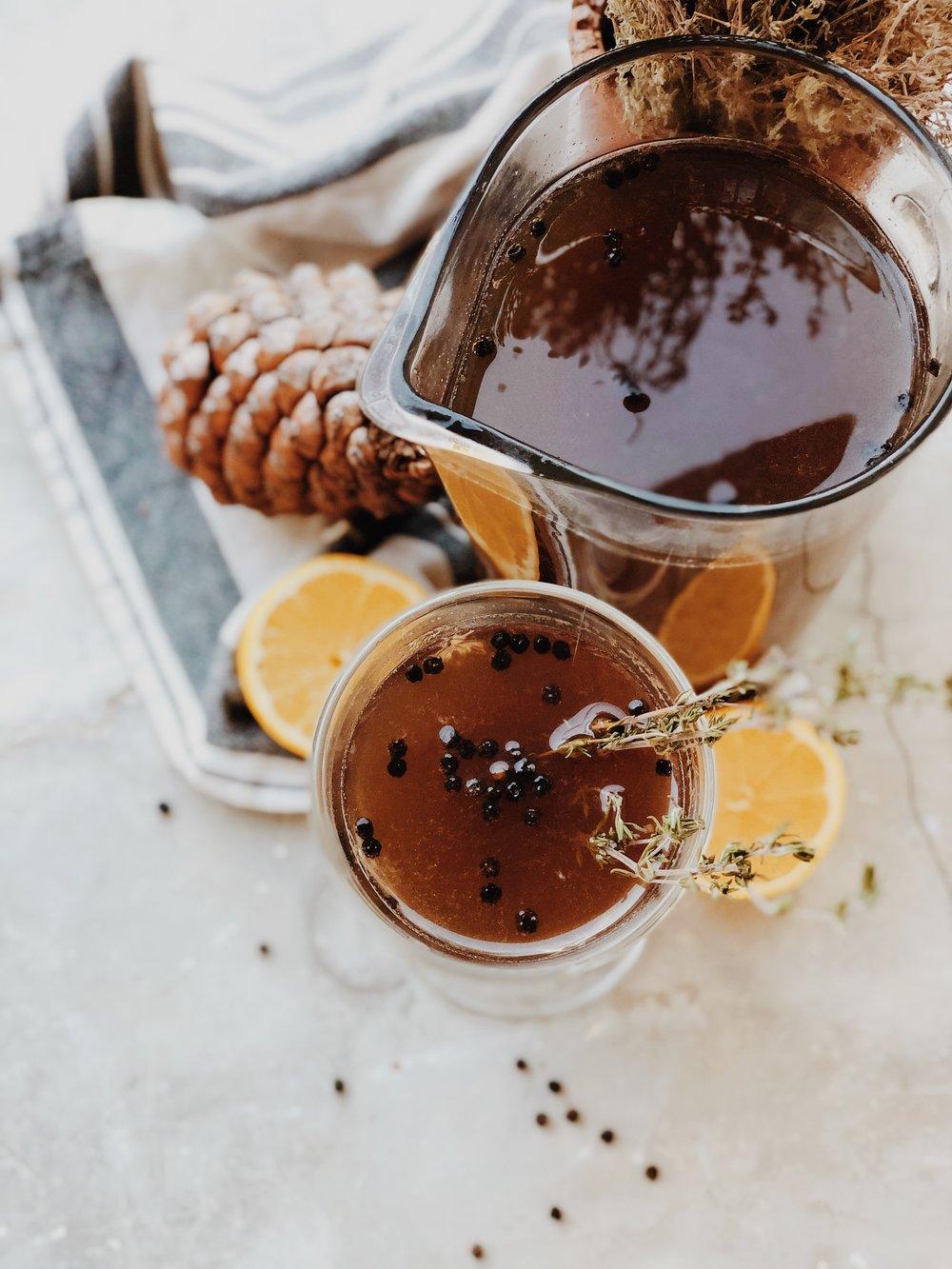 - Spiced earl grey tea