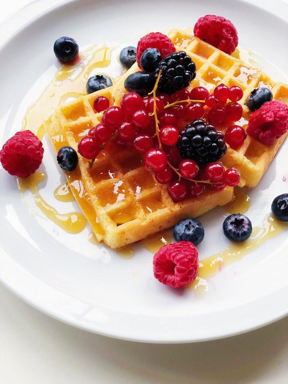 - Belgian banana wafflesrecipe soon