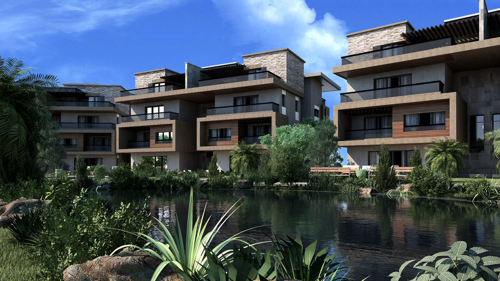 WESTRIDGE apartments | Luxury homes 6th October — NEWGIZA