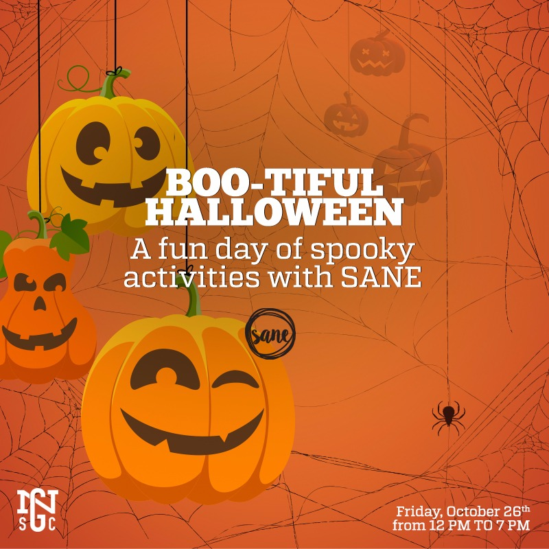 Friday 26.10 - Spooky activities for both the young and young-at-heart at NGSC ..