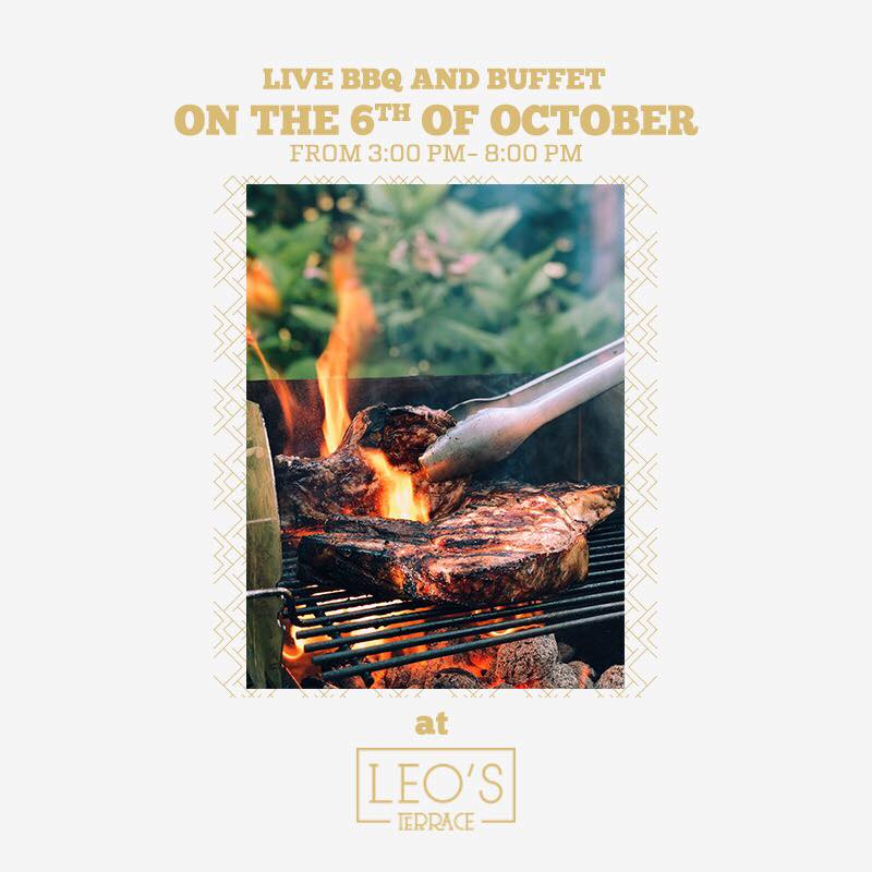 Live BBQ - 06.10 at Leo's Terrace