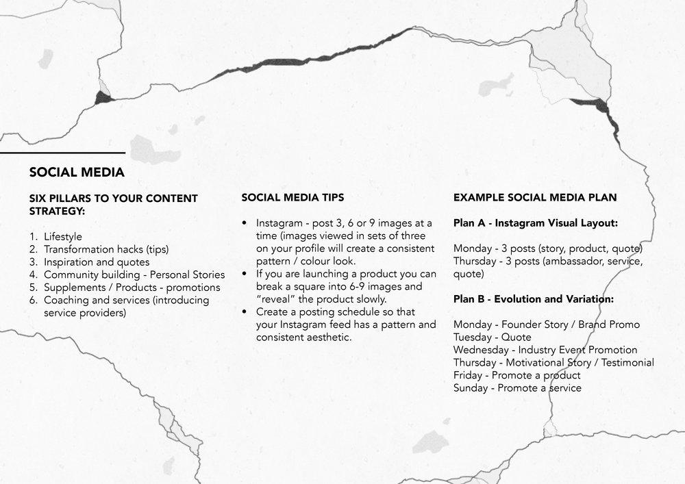 Example Social Media Plan (simple version).