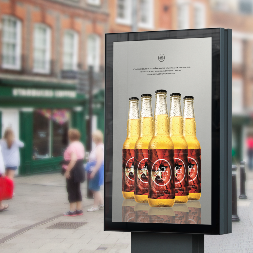 JACK CIDER  [PACKAGING / BRAND IDENTITY]