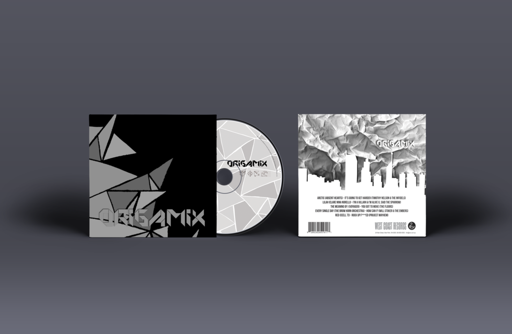 WEST COAST RECORDS  [PACKAGING / BRAND IDENTITY]