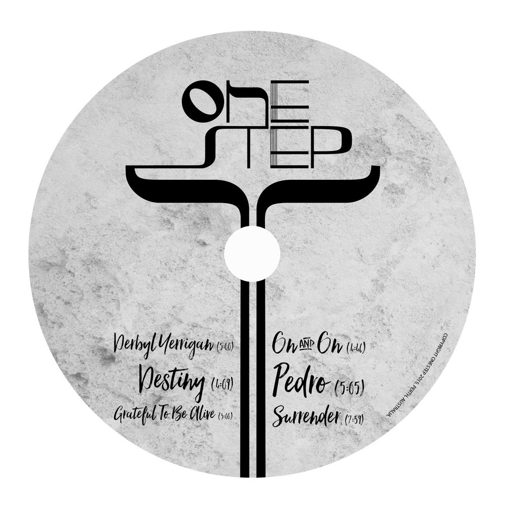 ONE STEP BAND [BRAND IDENTITY]