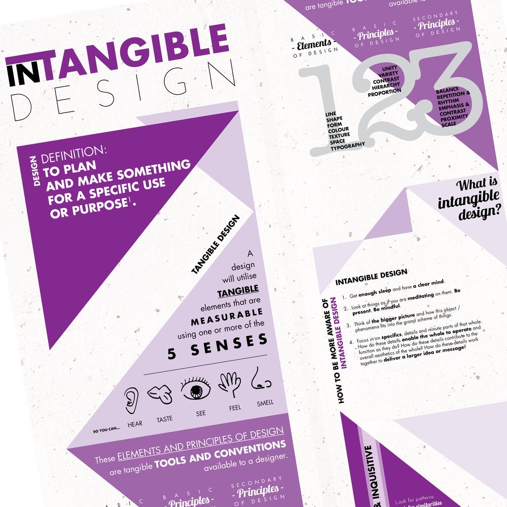 INTANGIBLE DESIGN  {INFORMATION DESIGN}