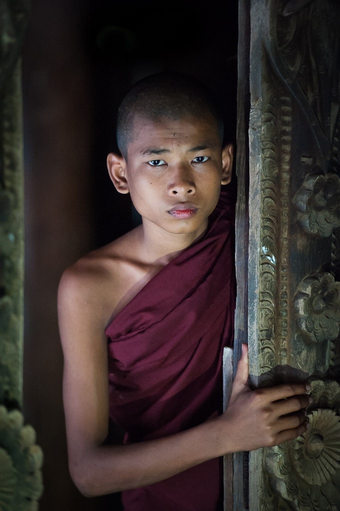 Young monk at Sulamuni temple