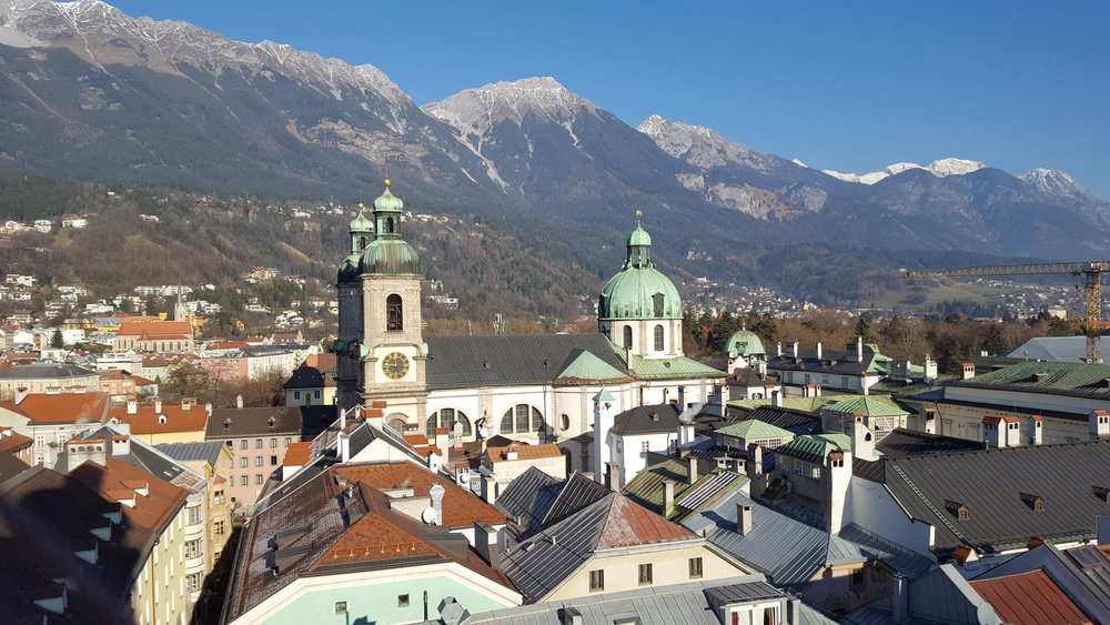Innsbruck from above