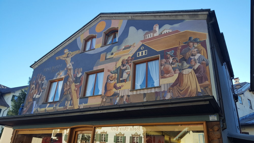 Oberammergau Luftmalerei