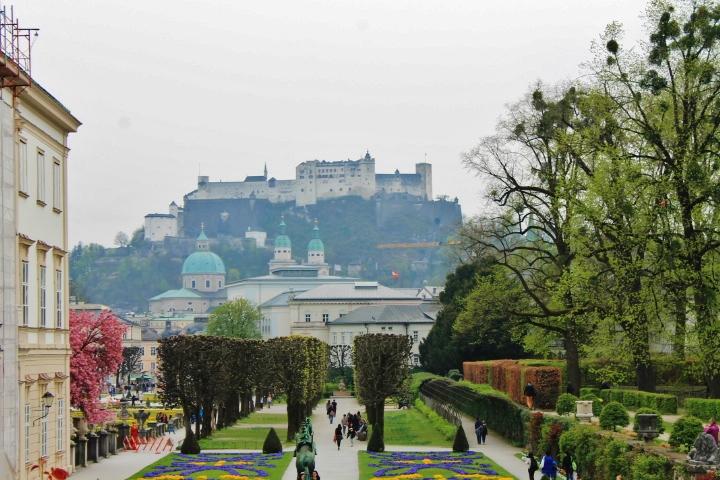 Salzburg Mirabell Gardens