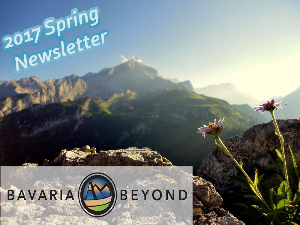 2017 Spring Newsletter - Spring is in the air in Bavaria - Both Martin Luther and Christmas Market tours are confirmed as a