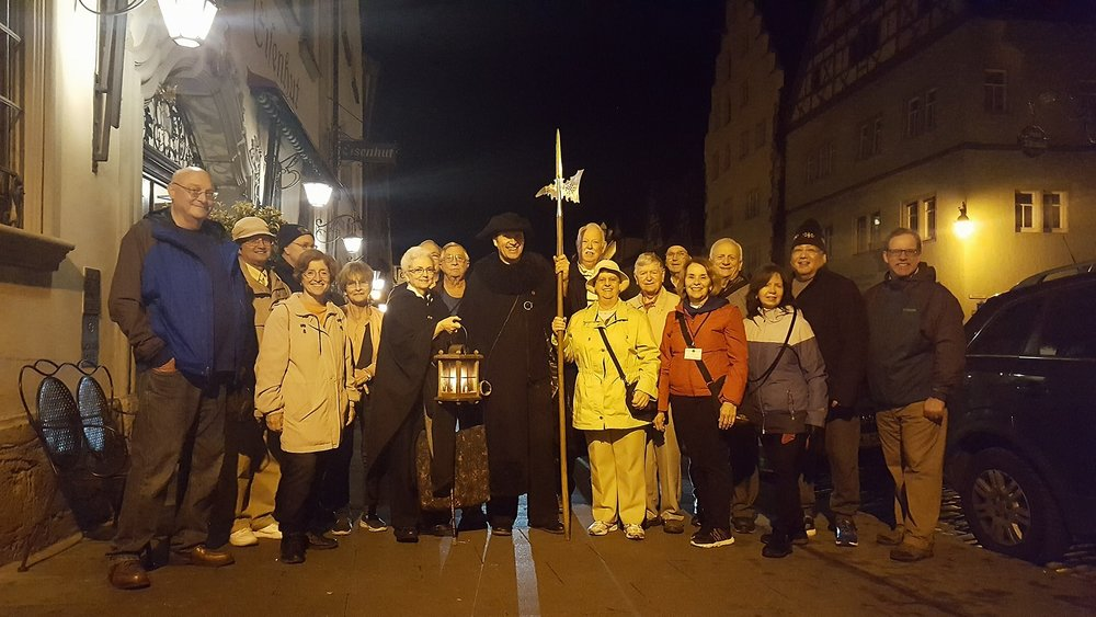 Nightwatchman's Tour in Rothenburg