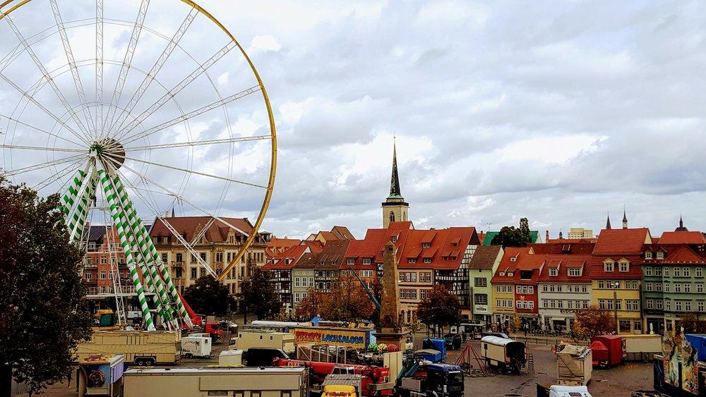 Erfurt Oktoberfest Grounds