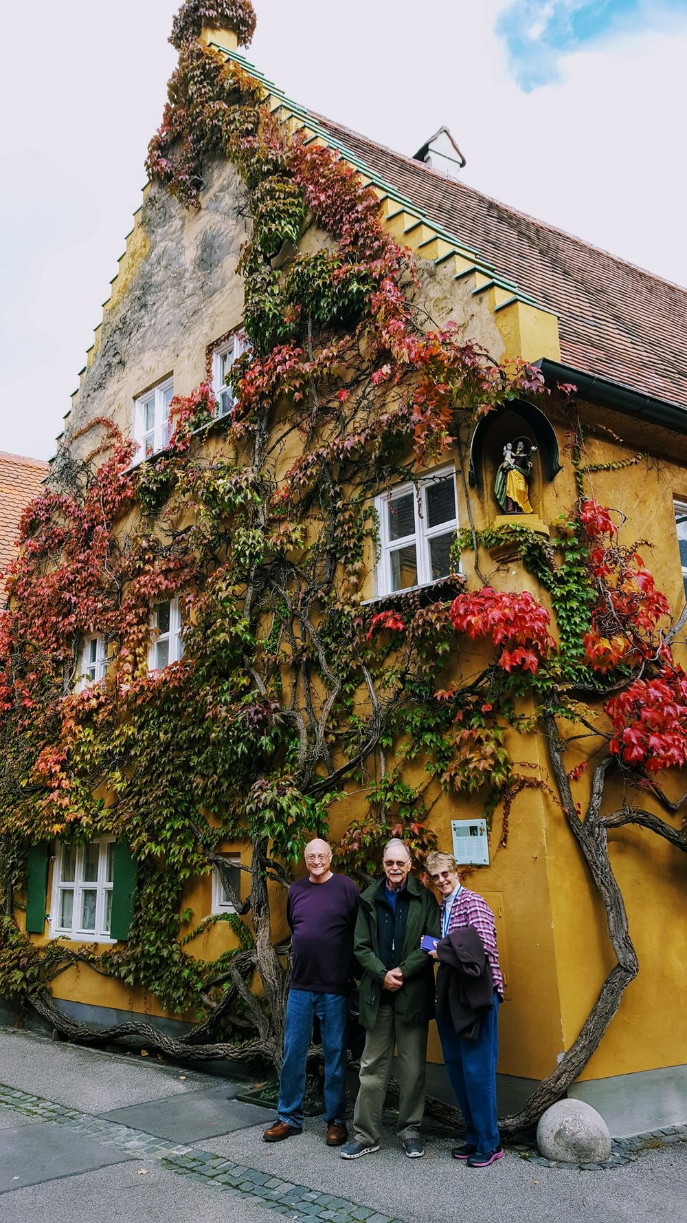 Fall Colors at the Fuggerei in Augsburg