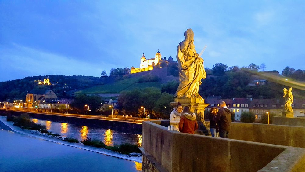 Würzburg at Night