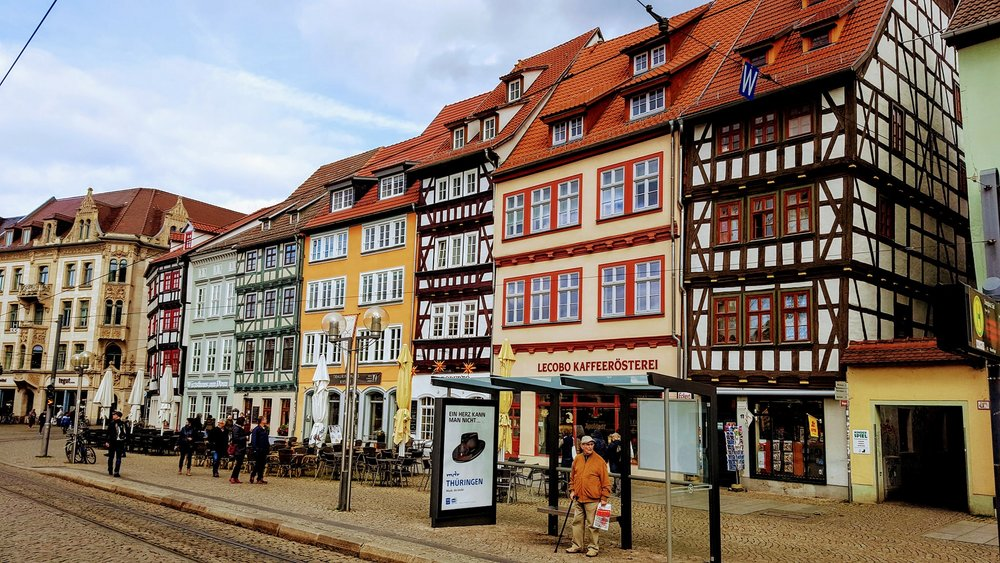 Half Timbered Homes of Erfurt