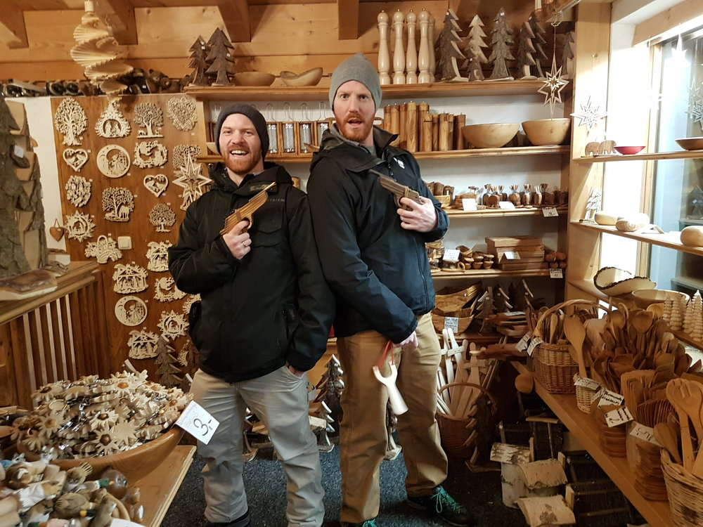 Woodcarver shop shenanigans