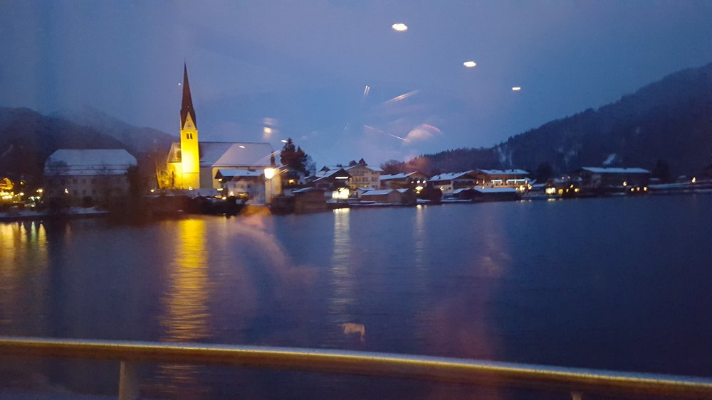 Tegernsee at Night