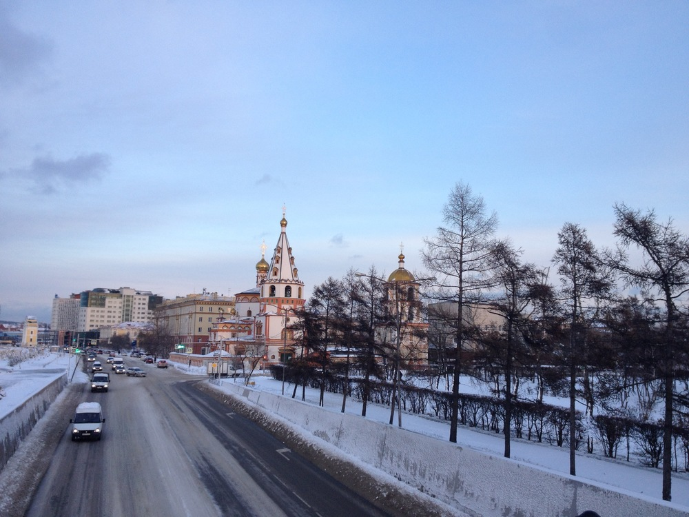 La belle Irkoutsk est surnommée le Paris de la Sibérie