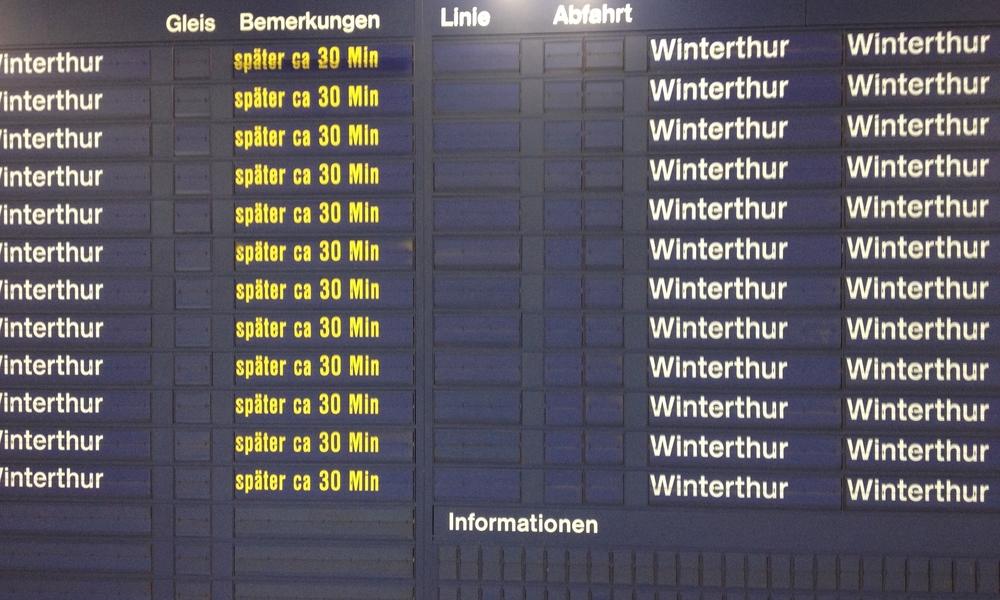 à quoi bon quitter Winterthur? © c.lovey