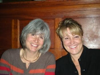 Debra Salthouse andmember Dot Korfman