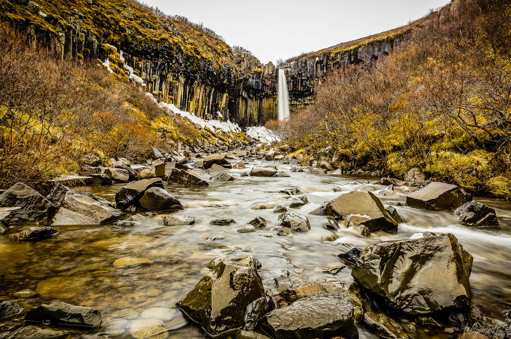 Svartifoss, Black, Waterfall, Lava, Iceland, The Wayward Post
