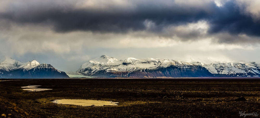 Iceland Europe Peaceful Mountains Glacier