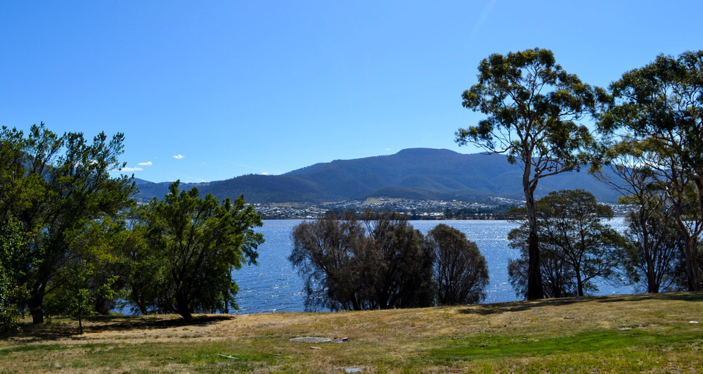 View from Otago Cottage and Bungalow, Hobart Australia - Julia Reynolds.jpg