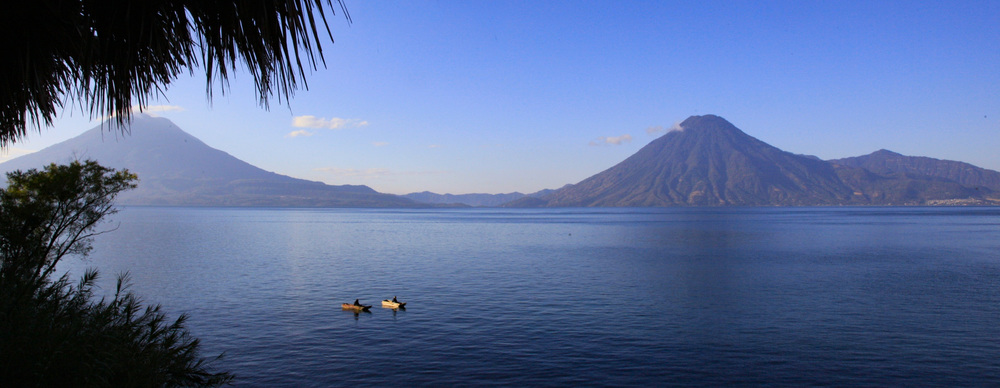 View of Lake Atitlan from the Jaguar Suite. Photo courtesy of Laguna Lodge.