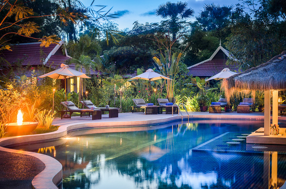 Pool at Sojourn Villas, Cambodia