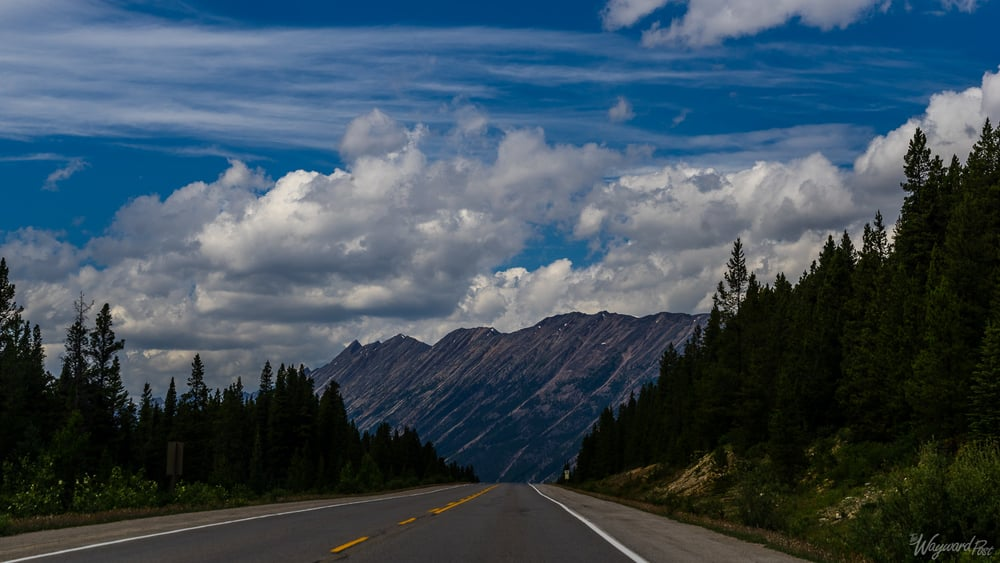 Endless Chain Mountains - The Wayward Post - Photo Story - Jasper National Park, AB Canada