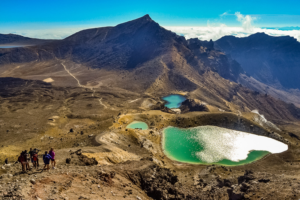 Tongariro Alpine Crossing. Photo by Julia Reynolds.
