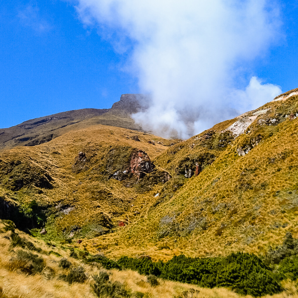 Tongariro Alpine Crossing - 6 Socially Conscious Trip Ideas for New Zealand North Island. Photo by Julia Reynolds.