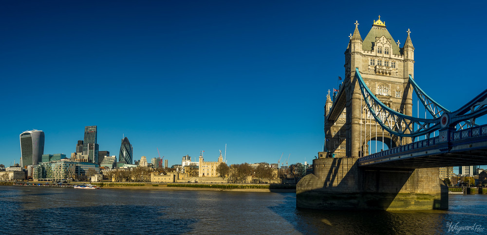 Tower Bridge and the Tower of London. Photo by Zygmunt Spray.