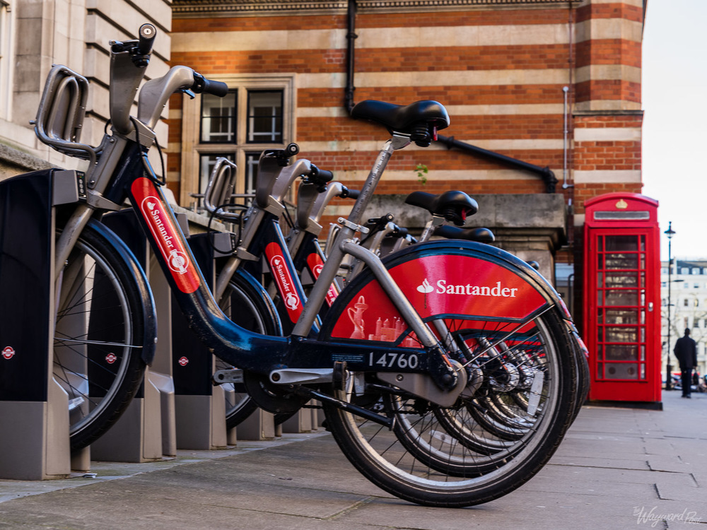 London Bike Share Bicycles. Photo by Zygmunt Spray.