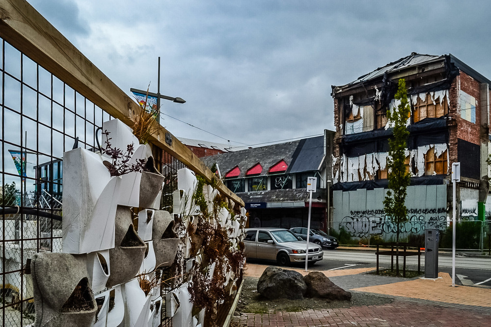 Greening the Rubble, Christchurch New Zealand