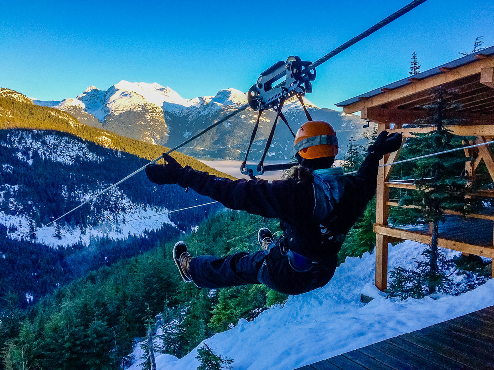 Superfly Ziplines, Whistler. Photo by Johanna Read.