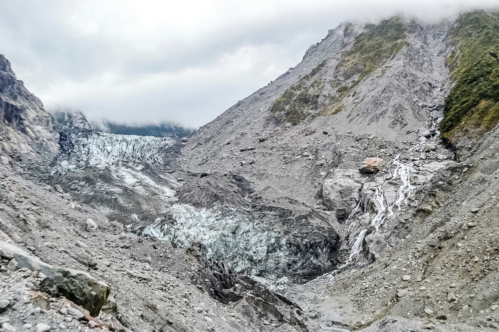 Fox Glacier. Photo by Julia Reynolds.