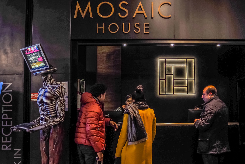 Mosaic House Lobby - Wayward Weekend in Prague