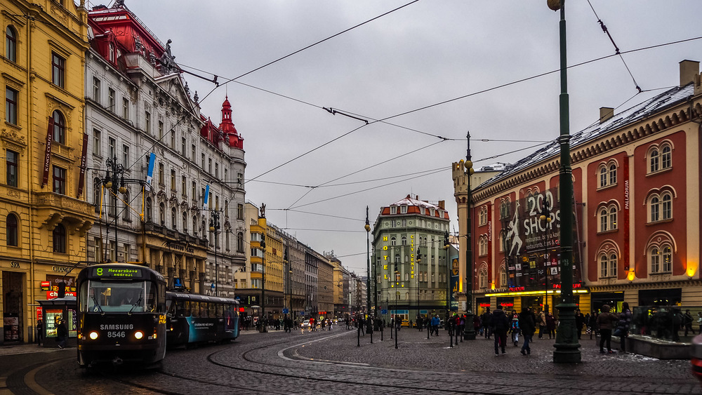 Streets of Prague + Transit - Wayward Weekend in Prague