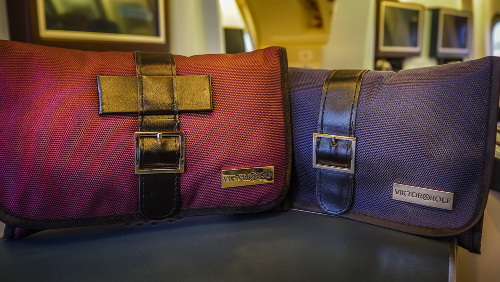 Vanity Kits - KLM Business Class - by Britney Hope - The Wayward Post