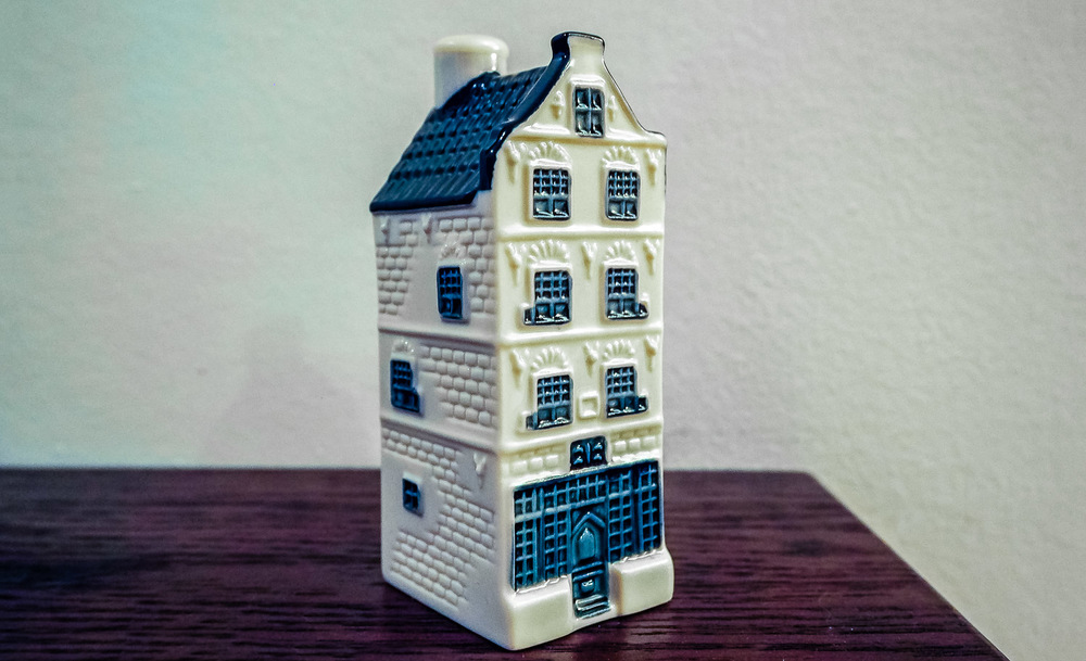 Delft Blue House-Edit - KLM Business Class - by Britney Hope - The Wayward Post
