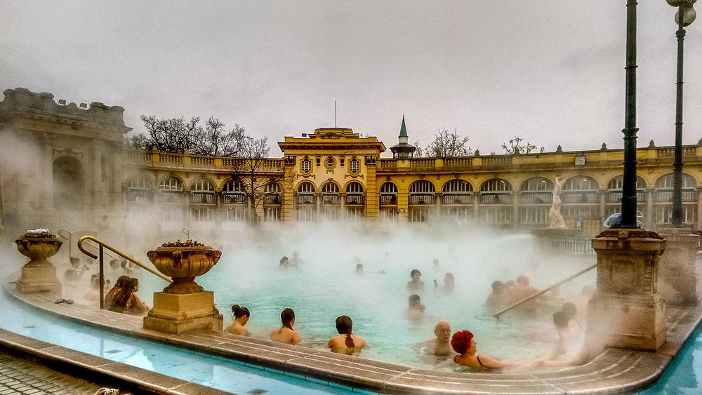 Széchenyi Baths - Wayward Weekend Budapest