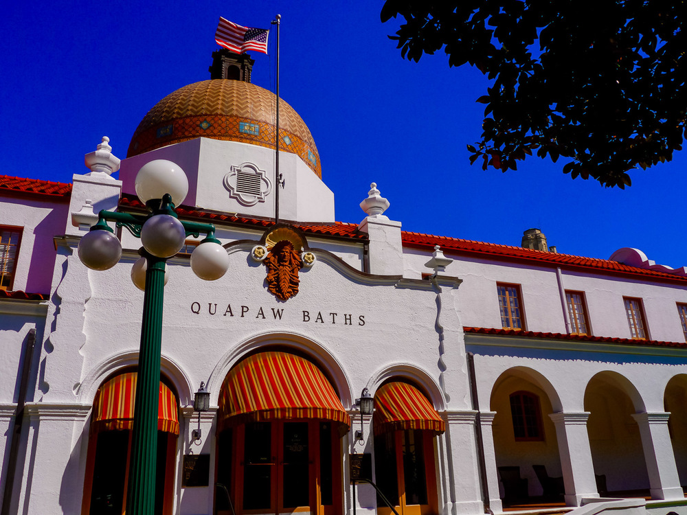 Quapaw Baths Hot Springs Arkansas. Photo by Johanna Read TravelEater.net - Wayward Weekend - 5.jpg