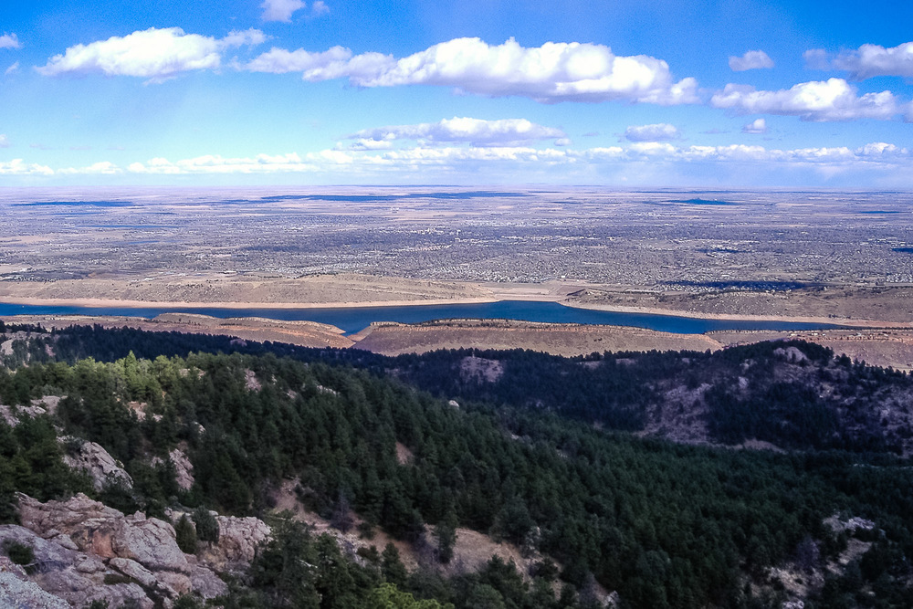 Overlook from horsetoth Rock2 - A Wayward Weekend in Fort Collins