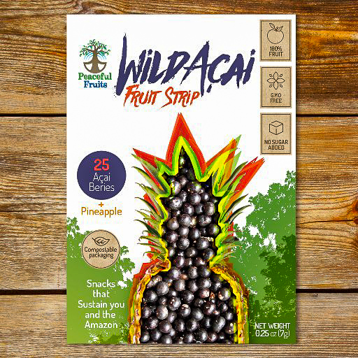 Acia+pineapple Fruit Strips, Peaceful Fruits - Photos courtesy of Peace Fruits