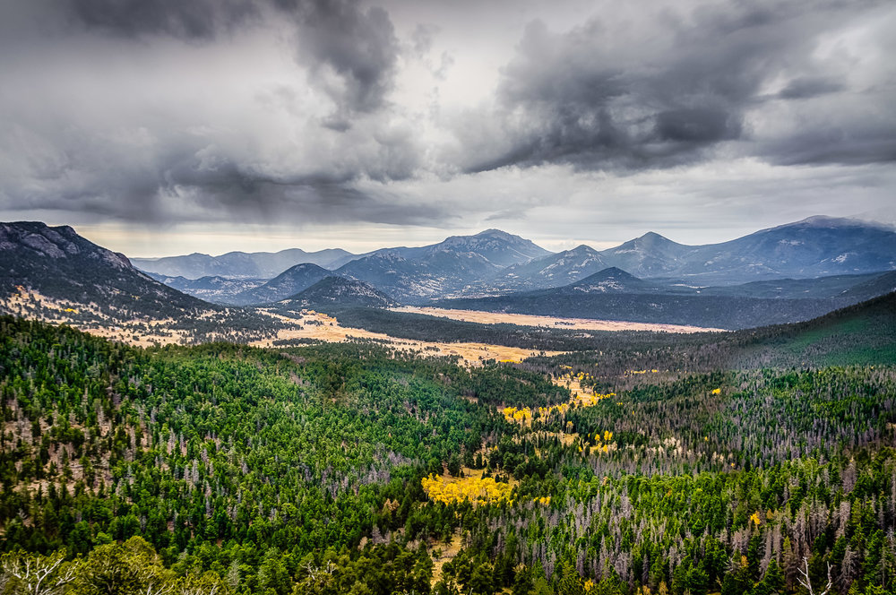 Landscape in Rocky Mountain National Park