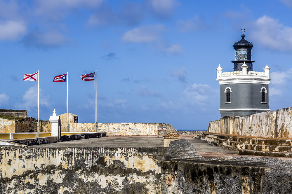 Fortifications in San Juan National Historic Site. Photo by Zygmunt Spray.