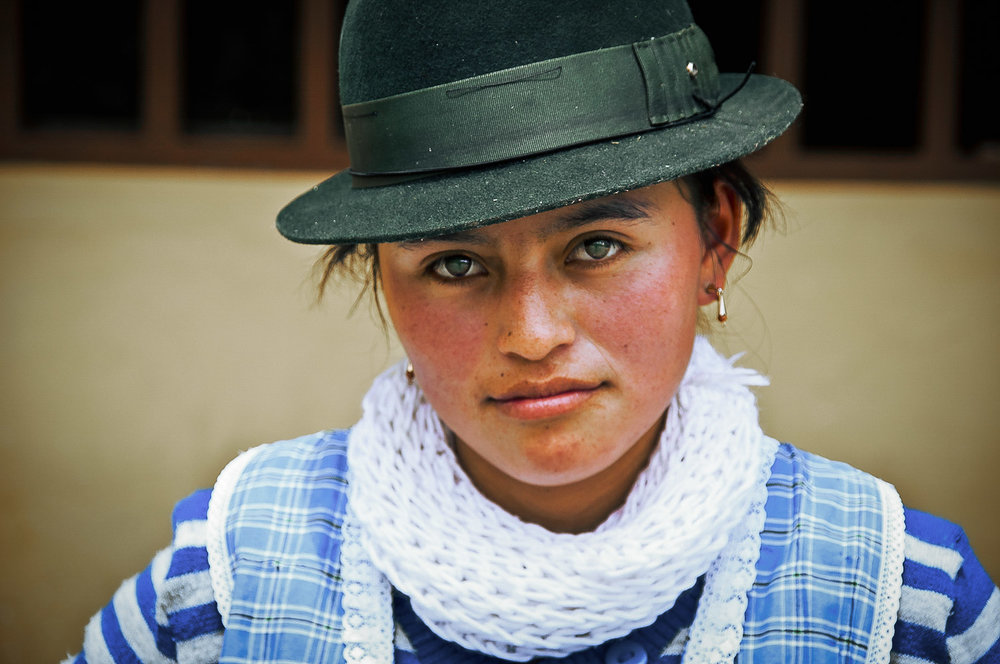 Young woman from Ecuador. Faces of the Worlds Richest People, Ecuador - The Wayward Post